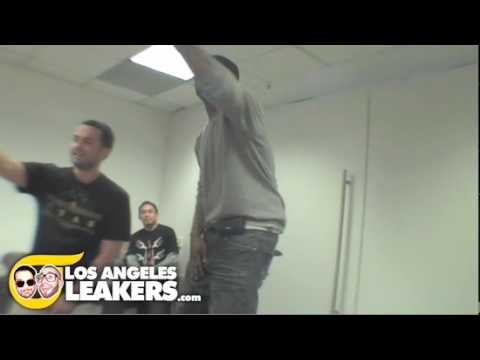 RAS KASS Performs in the conference room?