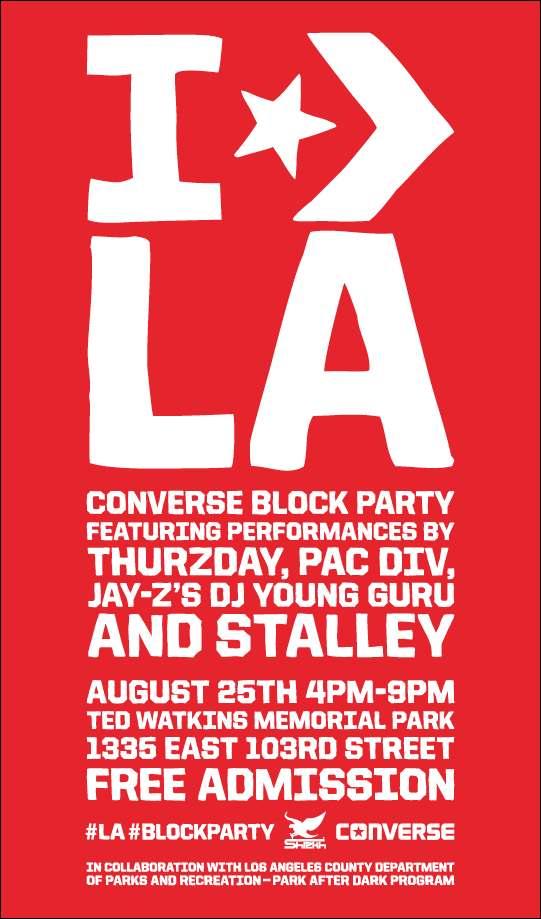 Converse Block Party