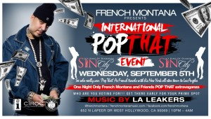 french montana LA event