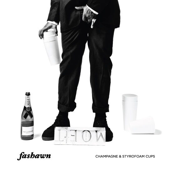 Champagne & Styrofoam Cups