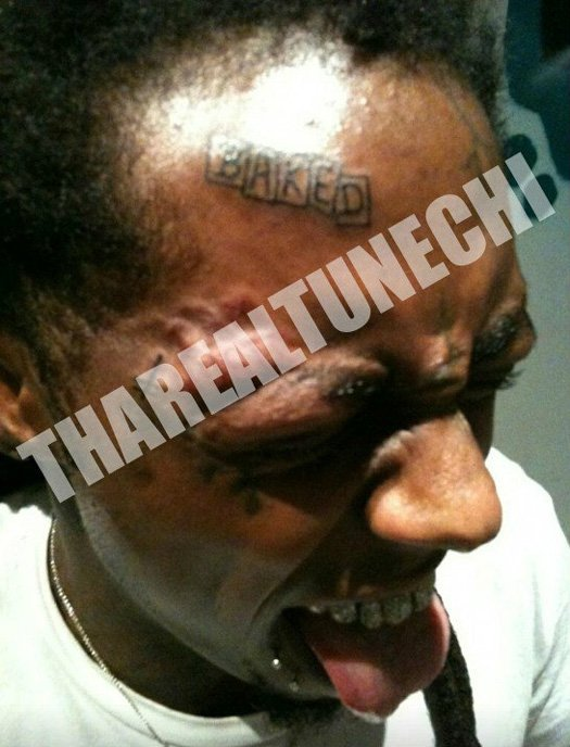 Lil Wayne's New Tattoo