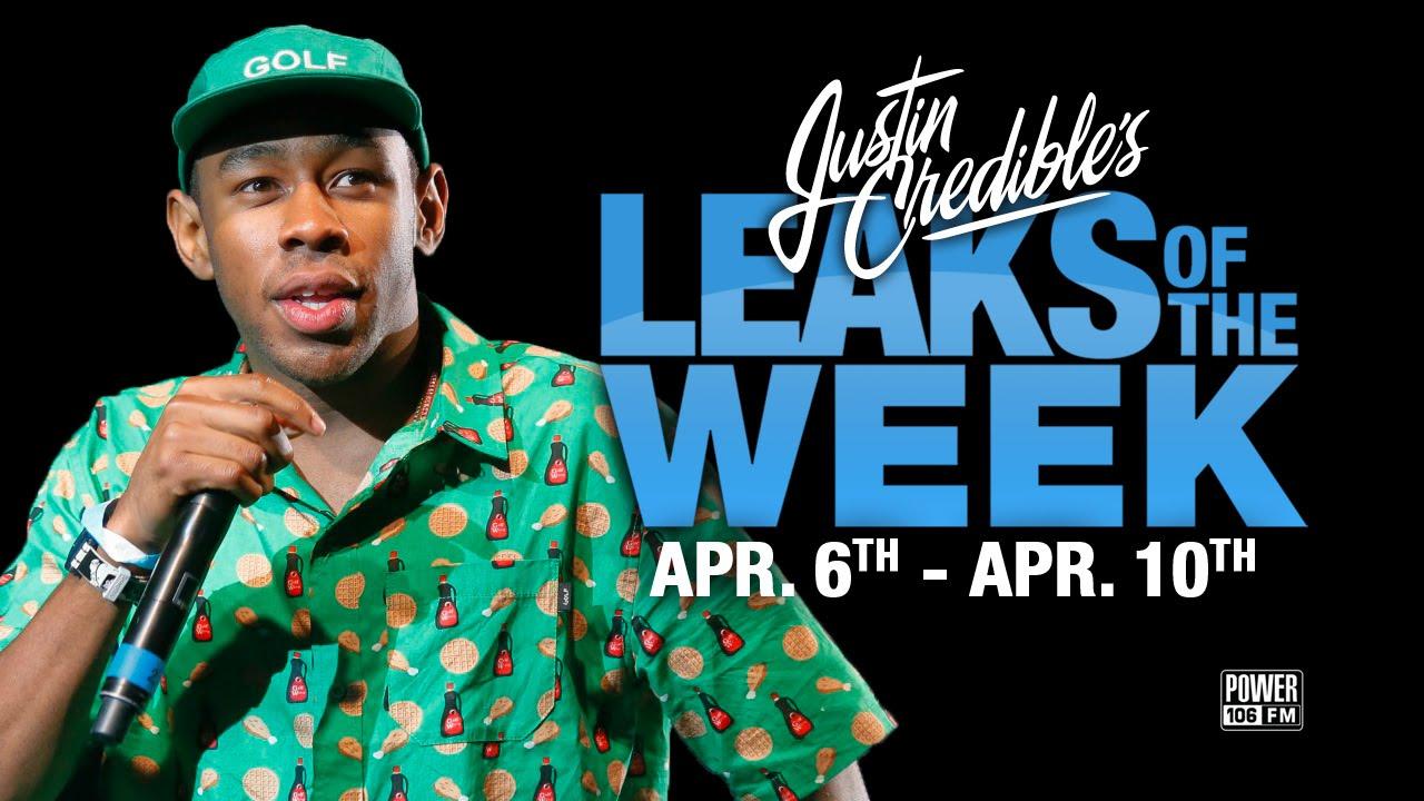 Justin Credible's #LeaksOfTheWeek w/ Tyler The Creator, A$AP Rocky & Rapsody (Video)