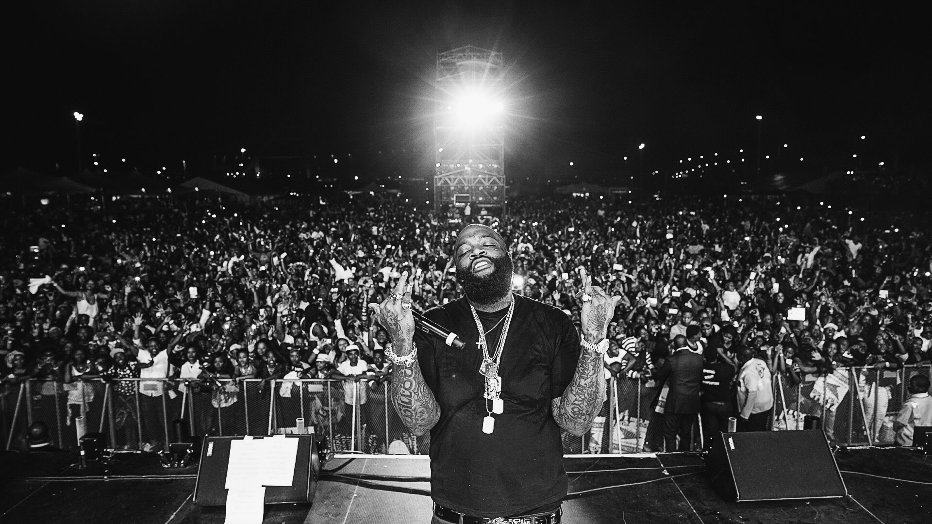 Rick Ross Live in Durban South Africa (Video)