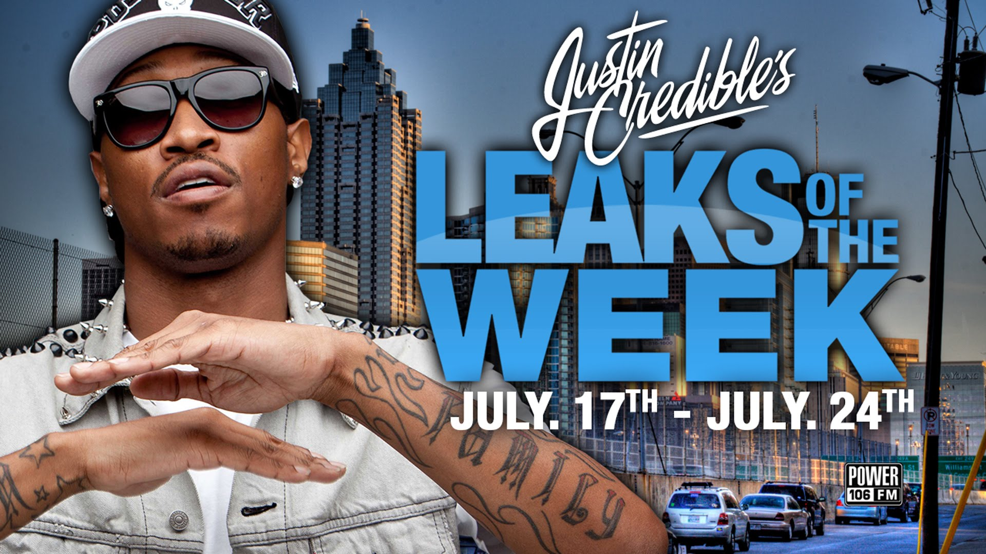 Justin Credible's #LeaksOfTheWeek w/ Future, Majid Jordan, & Hit-Boy (Video)