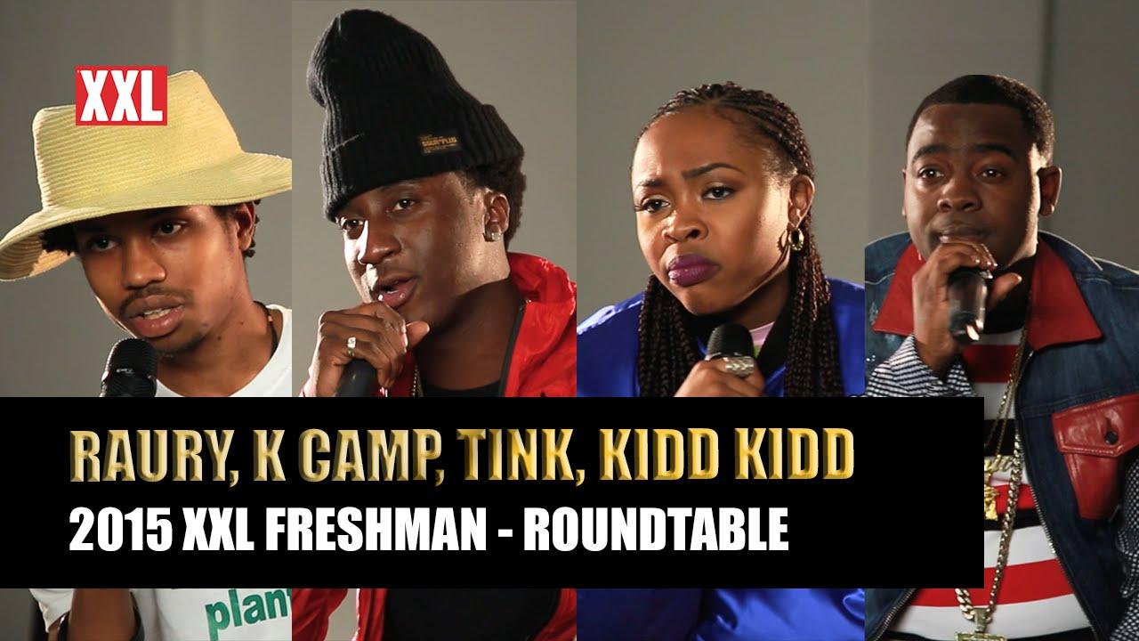 XXL Freshman 2015 Roundtable 1 w/ Tink, Kidd Kidd, K Camp, & Raury (Video)