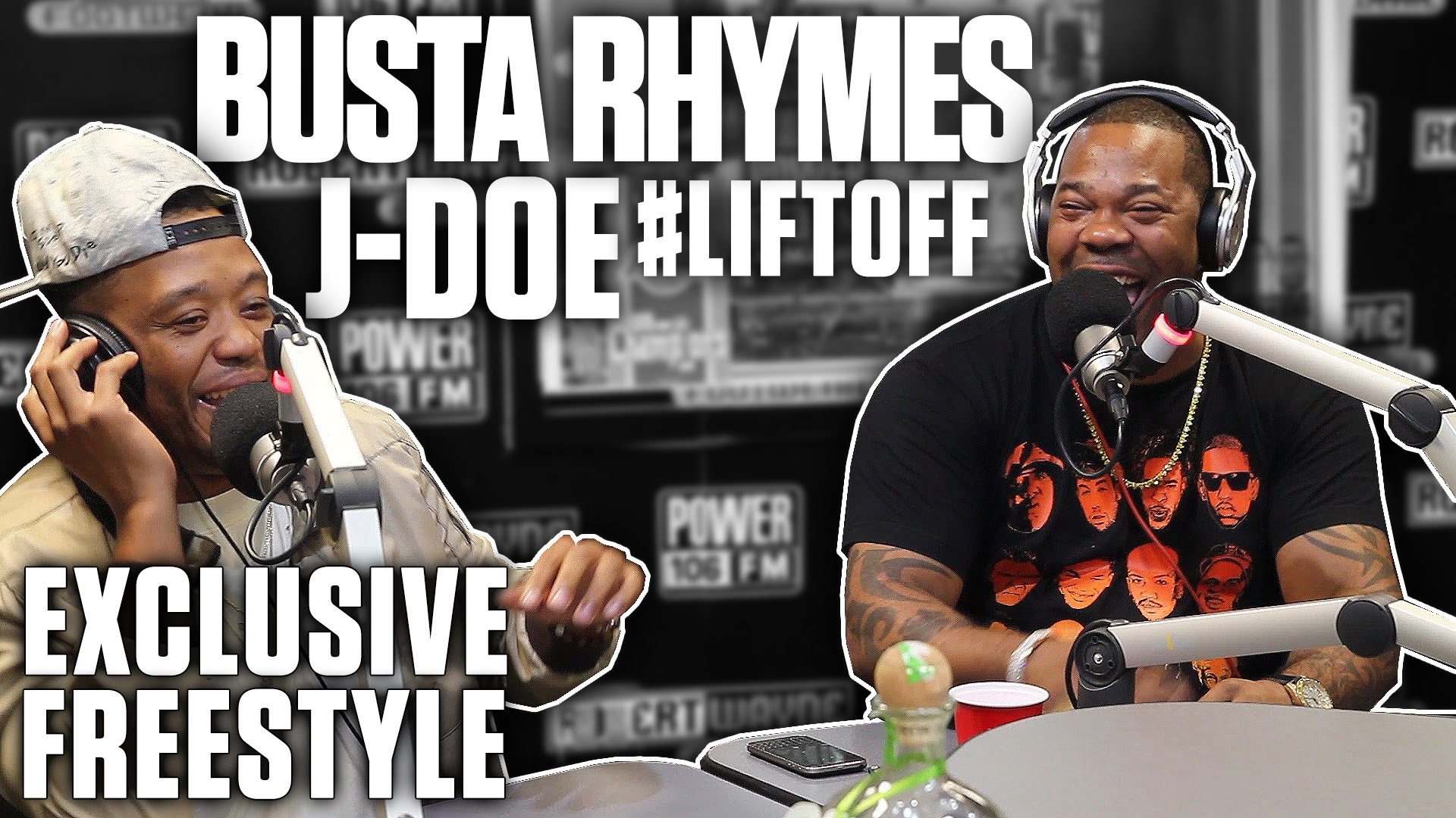 Busta Rhymes's First Radio Freestyle In A Decade On The #LIFTOFF (Video)