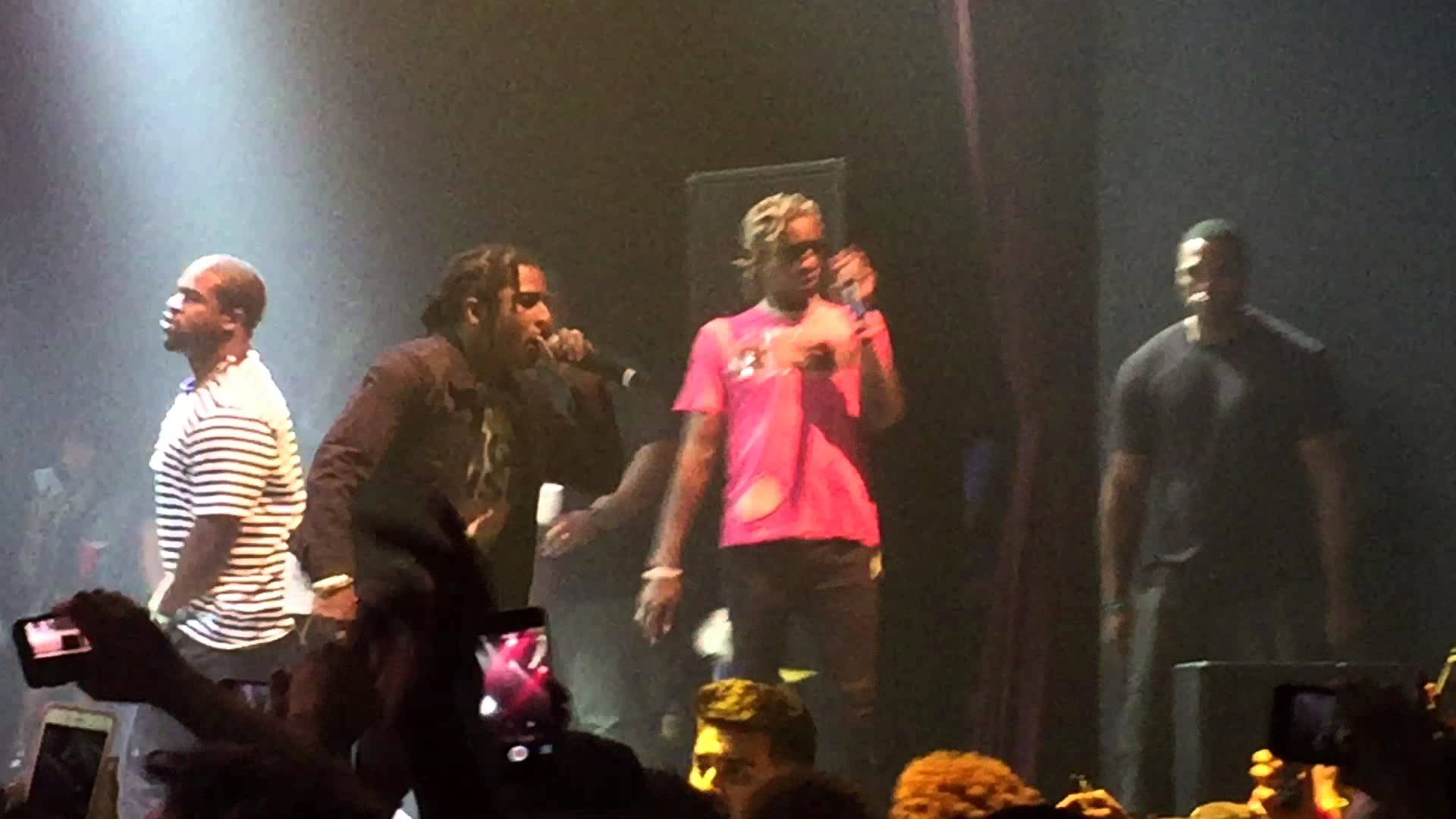 Young Thug Brings Out A$AP Rocky In L.A. (Video)