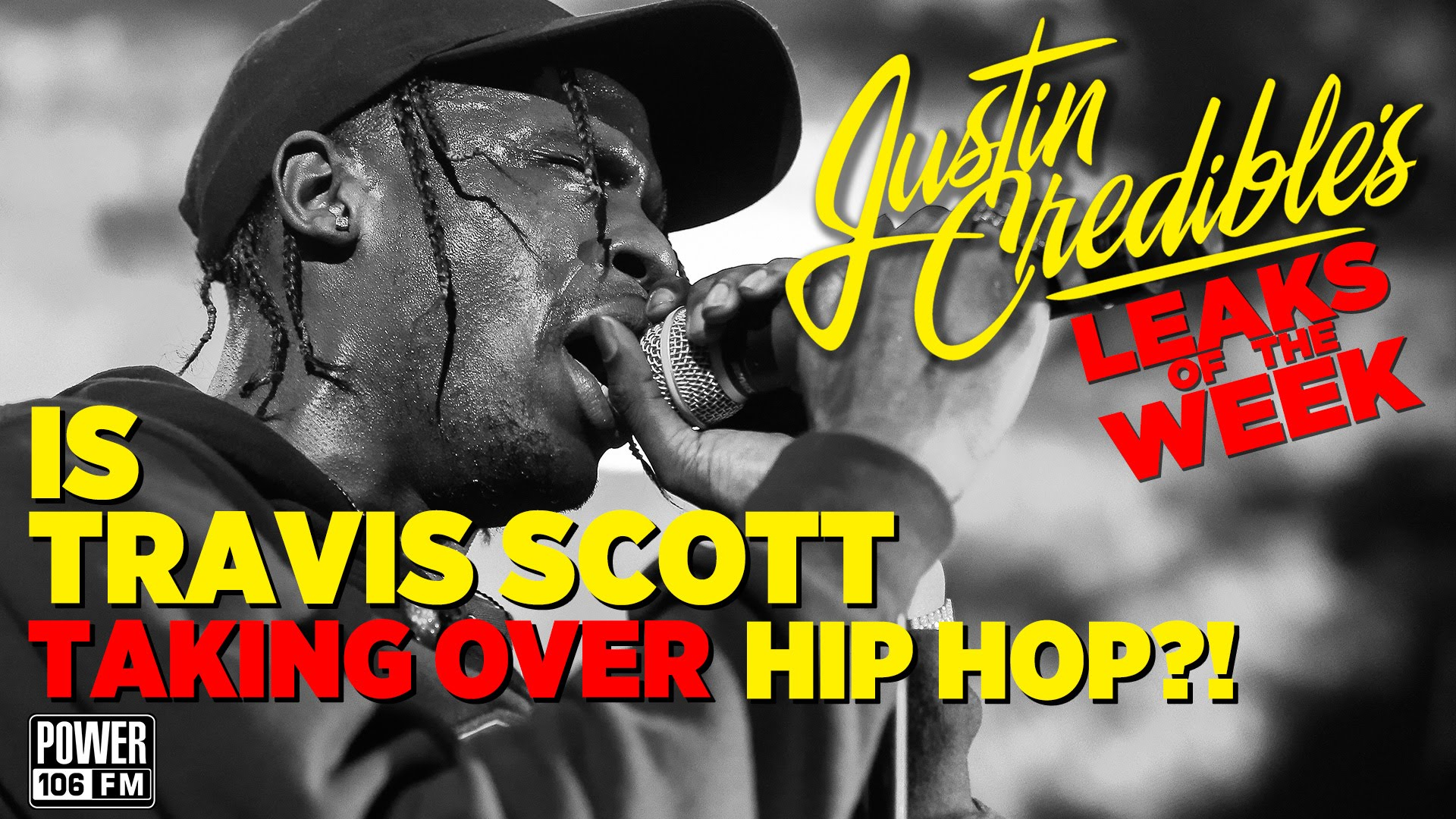 Justin Credible's #LeaksOfTheWeek w/ Travis Scott, Kanye West & Future  (Video)