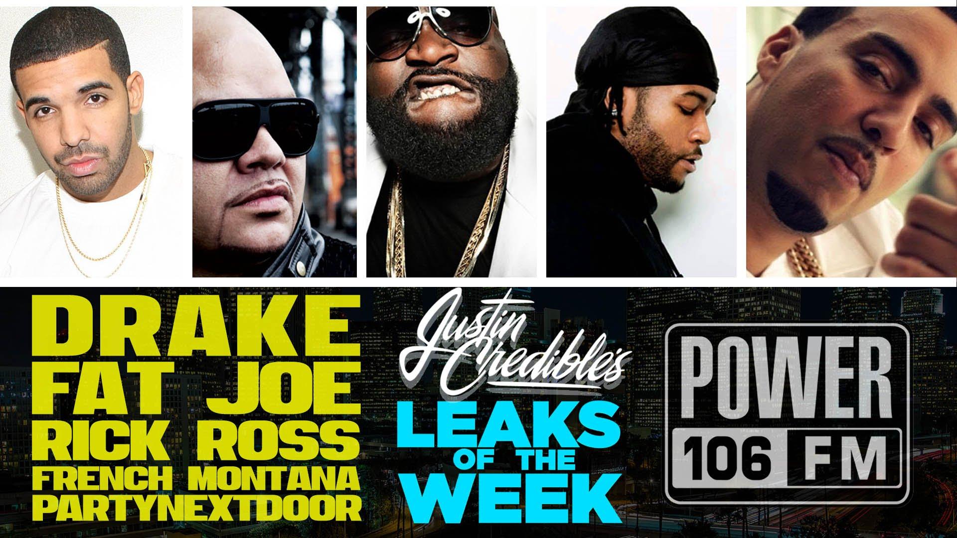Justin Credible's #LeaksOfTheWeek w/ Fat Joe, PARTYNEXTDOOR, J.U.S.T.I.C.E League (Video)