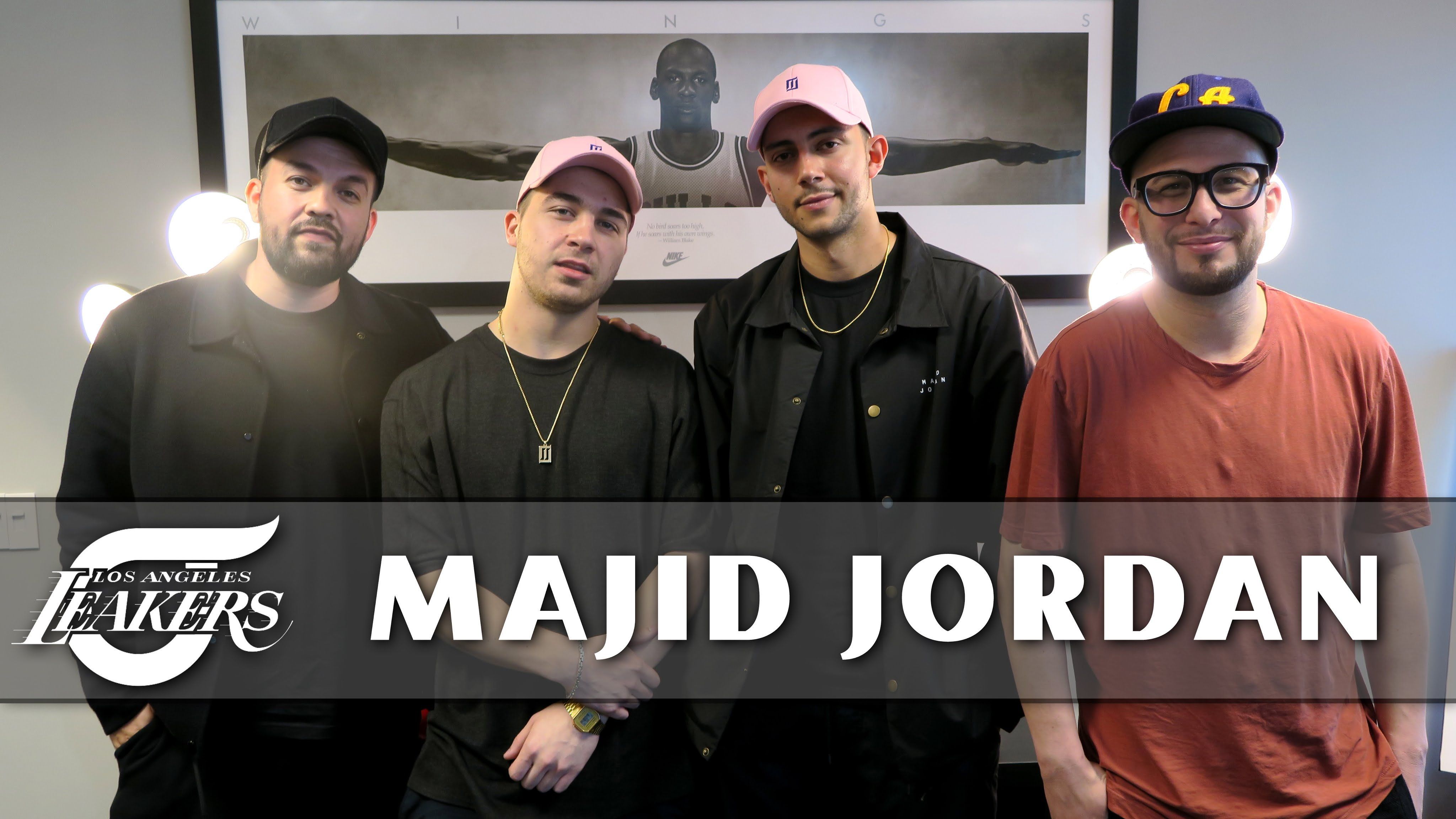 Majid Jordan Exclusive Sit Down with L.A. LEAKERS (Video)