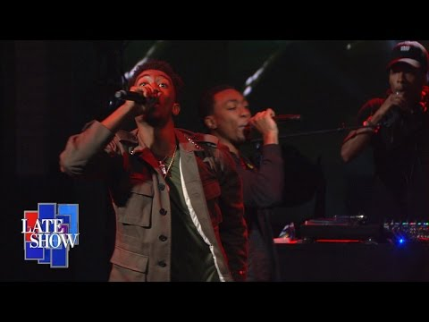 Desiigner Performs On The Late Show With Stephen Colbert (Video)
