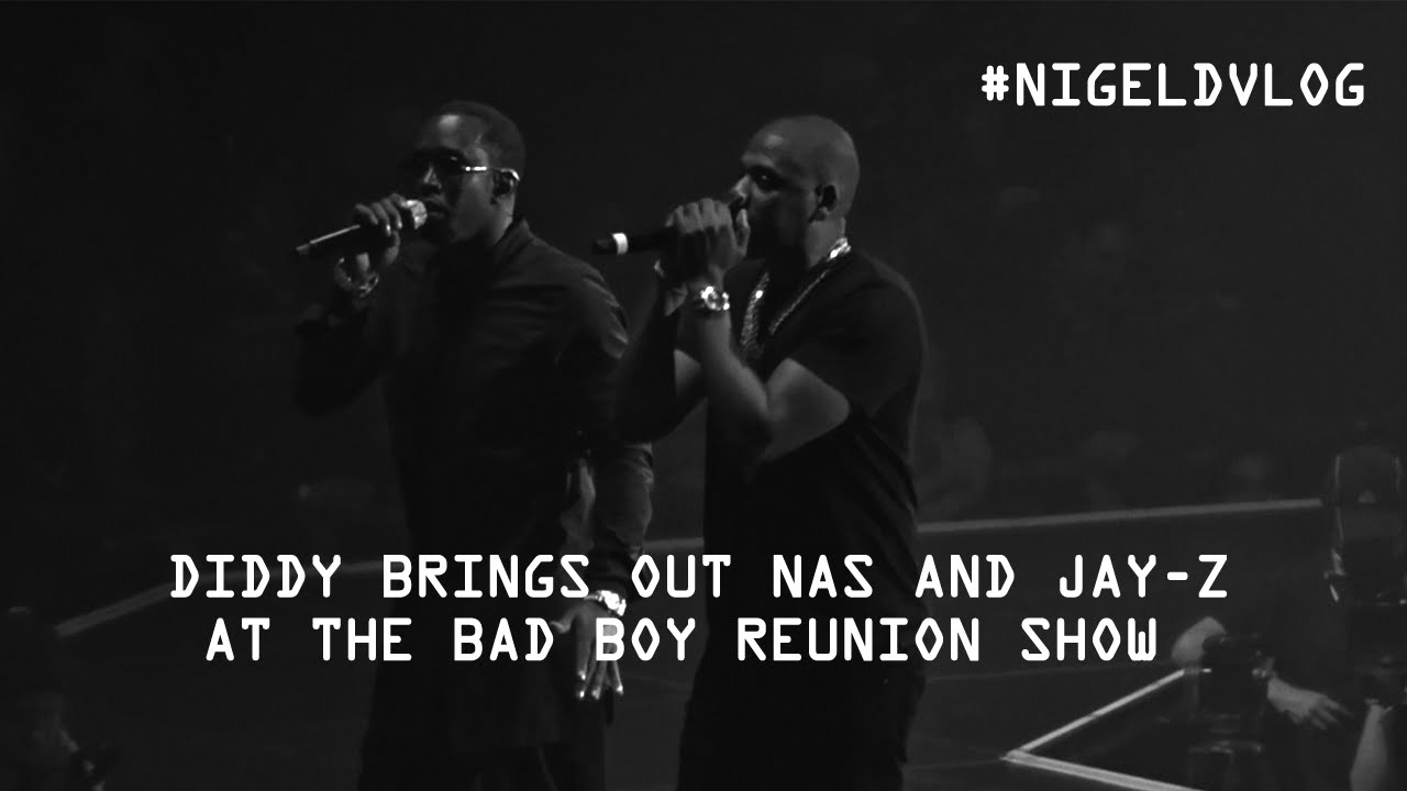 Jay Z  & Nas Join Puff Daddy At Bad Boy Reunion (Video)