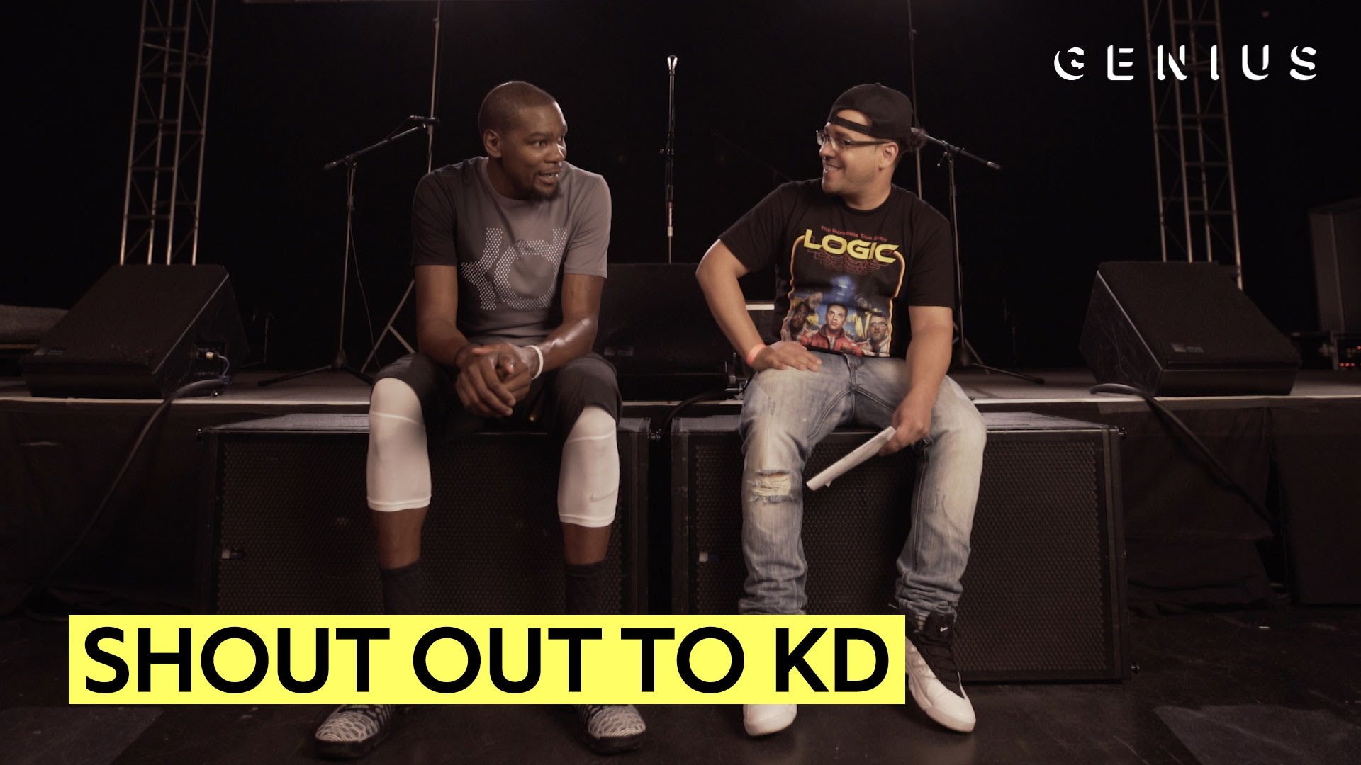 Kevin Durant Reacts To His Favorite Rappers Name Dropping Him [VIDEO]
