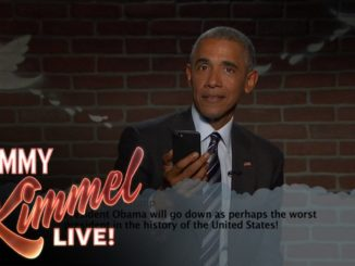 "Barack Obama Bodies Donald Trump While Reading ""Mean Tweets"" On ""Jimmy Kimmel Live!"" [WATCH]"
