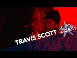 """Travis Scott Performs On """"The Late Show With Stephen Colbert"""" [WATCH]"""