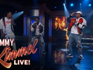 """Migos Performs """"Bad and Boujee"""" On """"Jimmy Kimmel Live!"""" [WATCH]"""