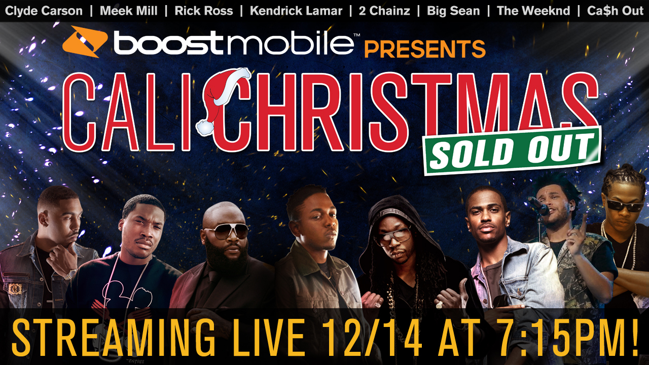 sold out cali christmas
