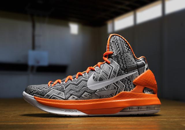 NBA AllStar 2013 Kevin Durant Shoes KD V - Streetball