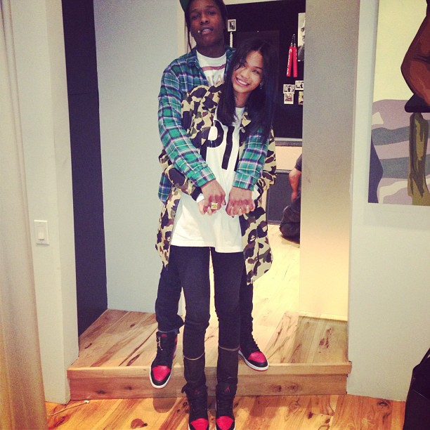 "... Azalea Crosses Out ""A$AP"" Finger Tattoo (L.A. Leakers Exclusive"