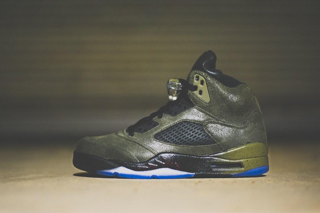 Air Jordan V 'Fear' (L.A. Sneakers)