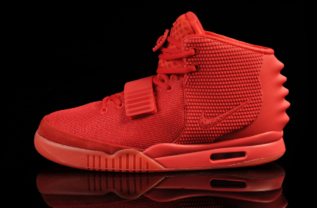 """Kanye West Nike Air Yeezy 2 """"Red October"""""""