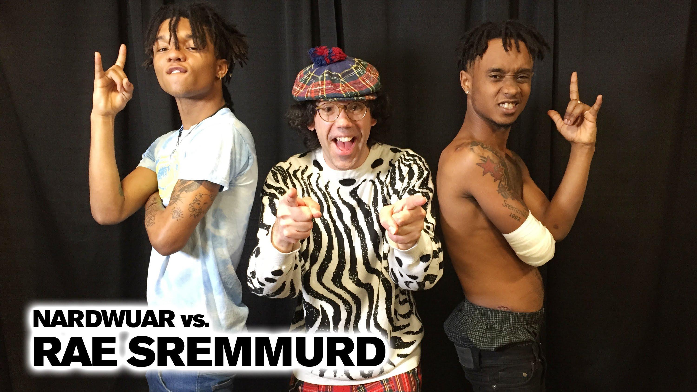 Nardwuar vs. Rae Sremmurd (Video)