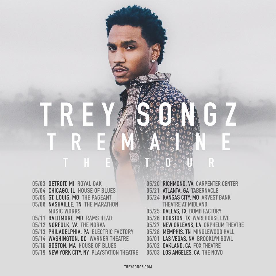 tremaine trey songz neverson the tour