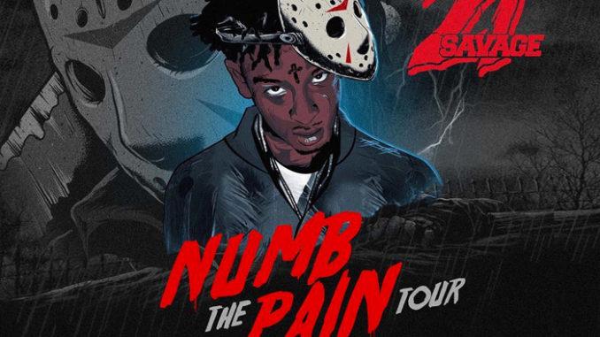 Savage Numb The Pain Tour November
